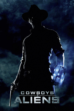 Cowboys & Aliens - Jake Lonergan Poster